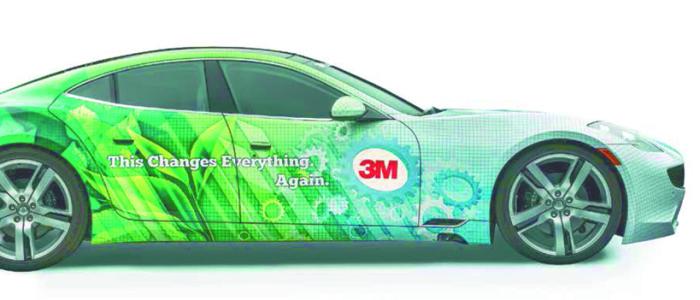 Nieuw: PVC-vrije 3M wrapfolie